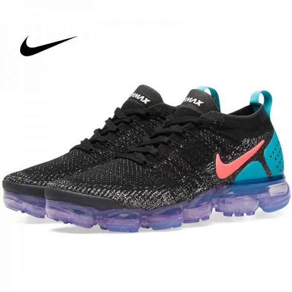 Nike Air VaporMax 2.0 大氣墊二代 情侶款 運動跑步鞋 黑藍粉 休閒 百搭 942842-00