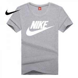 352a8441a56a2ef6 300x300 - NIKE 情侶款 夏季新款 基礎 純棉T恤 男女款 灰白 經典 百搭