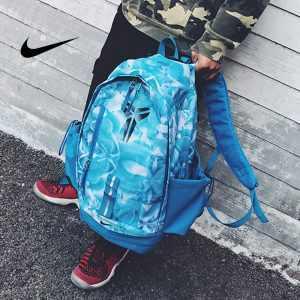376dc4c4159ee3d4 300x300 - 羽毛款科比 Nike Kobe 籃球包 大容量 雙肩包 旅行包 學生書包 鞋袋包 淺藍 49*27*19