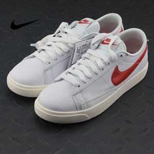 3b61567532419898 300x300 - Nike Blazer Low Premium 開拓者 限定 百搭 板鞋 復古白紅 情侶款 454471-105