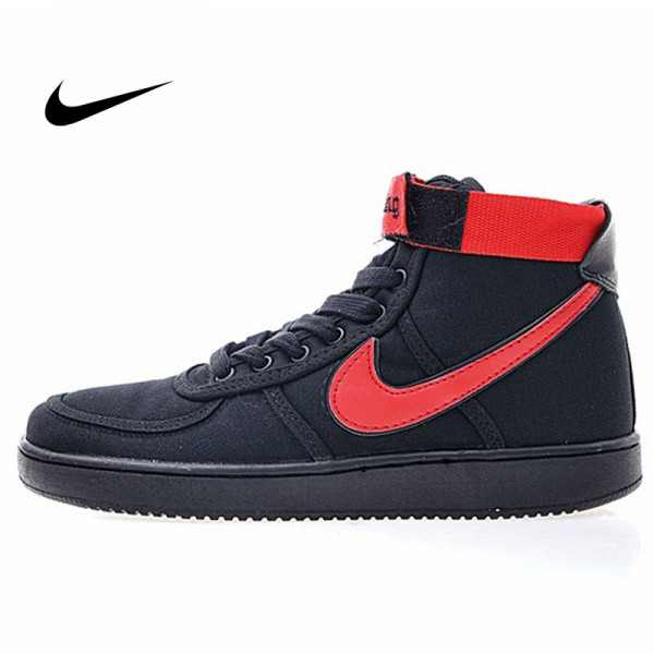 Vandal-A x Nike Vandal High OG 教父 尼龍布 高筒 籃球鞋 黑紅 男款 休閒 百搭 318330-012