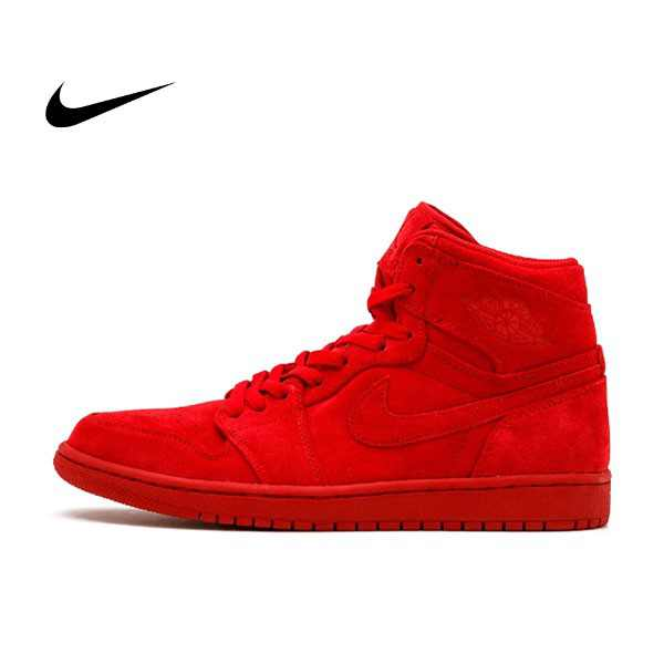 "Air Jordan 1 Retro High ""Red Suede"" 全紅 麂皮 男鞋 332550 603 - 耐吉官方網-nike 官網"