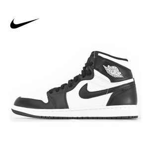 448012ad95a387fe 300x300 - NIKE AIR JORDAN 1 RETRO HIGH Black White 情侶 高筒 黑白 555088-010 - 耐吉官方網-nike 官網