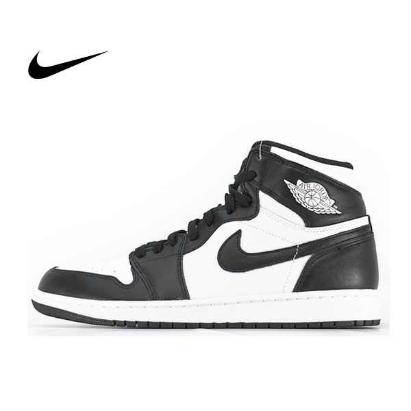 NIKE AIR JORDAN 1 RETRO HIGH Black White 情侶 高筒 黑白 555088-010 - 耐吉官方網-nike 官網