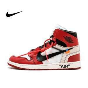 "45681ec5a9422aff 300x300 - Virgil Abloh設計師OFF white x Nike Air Jordan 1 喬丹初代經典籃球鞋""OW白紅黑"" 情侶款AA3834-101"