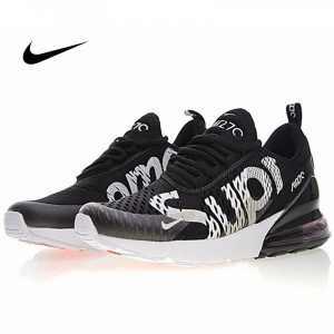47274be337d0fd13 300x300 - Supreme x Nike Air Max 270系列 後跟半掌氣墊 慢跑鞋 黑白 男款 潮鞋 百搭 AH8050-001