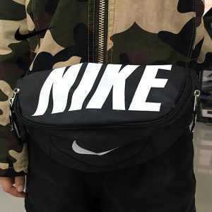 4784d88f359be865 300x300 - Nike 情侶款 腰包 胸包 騎行單包 斜挎包 零錢包 帆布 黑白 時尚百搭 NK-02132