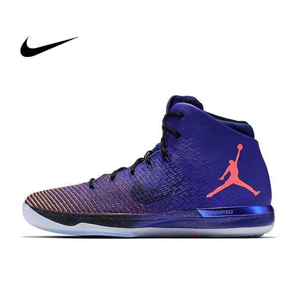 Nike Air Jordan 31 Supernova 藍橘黑 31代 男鞋 高筒 耐磨845037-400 - 耐吉官方網-nike 官網