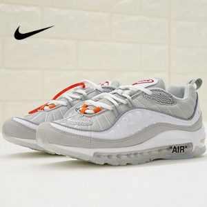 48833fabaf89686a 300x300 - Virgil Abloh x Nike Air Max 98 The Ten 復古 百搭 慢跑鞋 淺灰 男款 休閒 百搭 640744-101