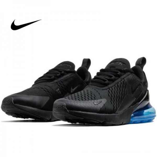 Nike Max 270 AH8050-009 男鞋 黑藍 氣墊慢跑鞋 透氣 休閒 百搭