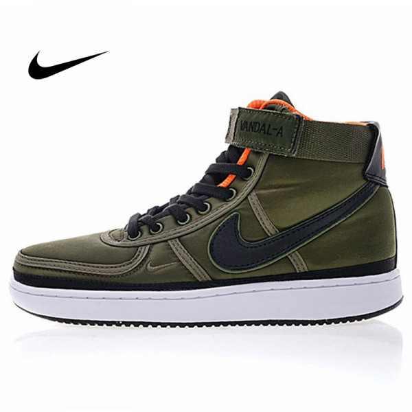 Vandal-A x Nike Vandal High OG 教父 尼龍布 高筒 籃球鞋 男款 軍綠色318330-200