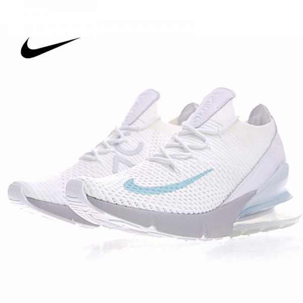 Nike Air Max 270 Flyknit 飛線 針織 氣墊 白玉蘭 慢跑鞋 情侶款 時尚百搭 AO1023-100