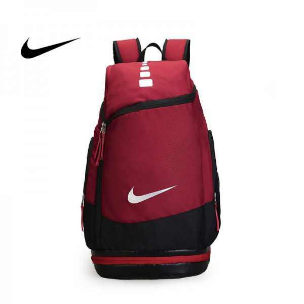 NIKE 情侶款 雙肩包 帆布 後背包 運動 紅色 大容量 厚19*寬30*高52