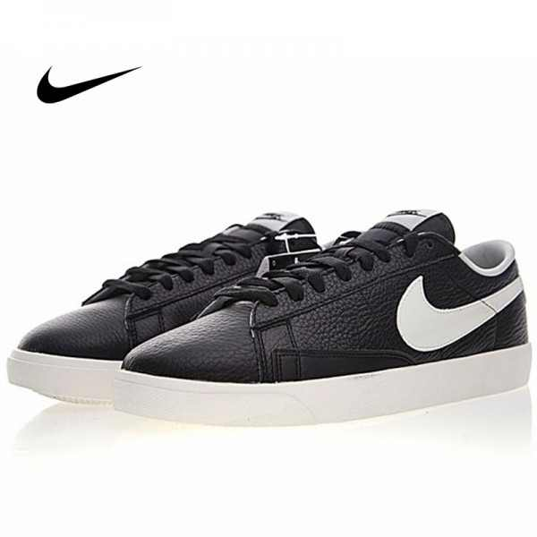 Nike Blazer Low Premium 開拓者 百搭 板鞋 復古 黑白 454471-004