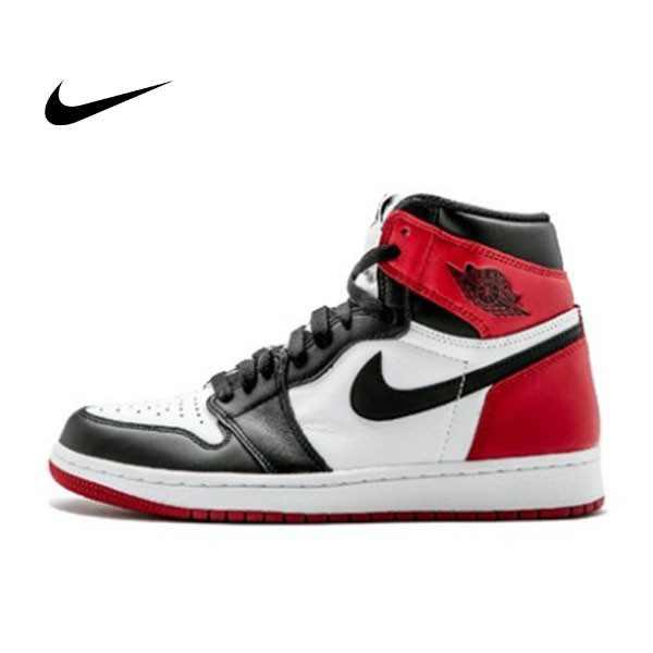 NIKE AIR JORDAN 1 RETRO HIGH OG 男女鞋 黑白紅 高筒 555088-125 - 耐吉官方網-nike 官網