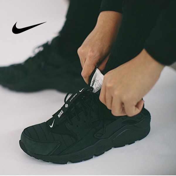Nike AIR HUARACHE RUN QS NYC黑色運動鞋 黑武士 男款 時尚 百搭