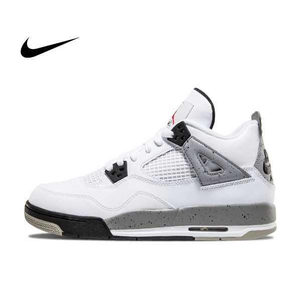 Nike Air Jordan 4 Retro OG BG 喬4 白水泥籃球鞋 男女鞋 836016 192 - 耐吉官方網-nike 官網