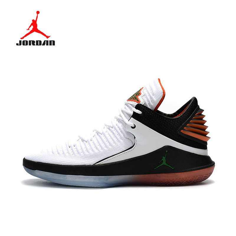 AIR JORDAN XXXII DAY BANNED 32代 AH3348-001 喬丹 白橘 男款 水晶底 籃球鞋