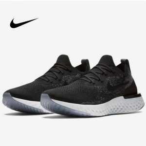 5e0ac6a583bd09a4 300x300 - Nike Epic React Flyknit 黑色 飛線 泡沫 顆粒 情侶款 慢跑鞋 休閒 時尚 AQ0067-001