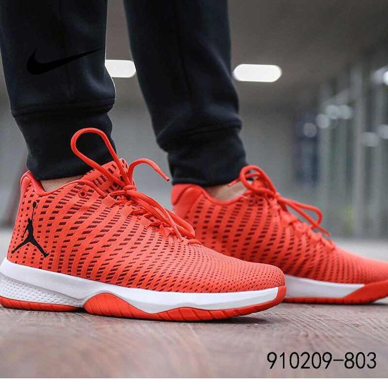 NIKE AIR JORDAN B.FLY AJ男子 氣墊 緩震 實戰 籃球鞋 紅白 881444/910209