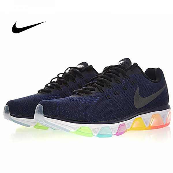 Nike Air Max Tailwind 氣墊 百搭 慢跑鞋 深藍彩虹 男款 運動潮鞋 826056-400