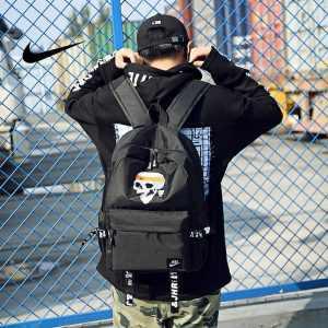 633823c18cacf257 300x300 - 骷髏頭新款 Nike 雙肩包 後背包 時尚 街頭風 運動包 流蘇 黑色