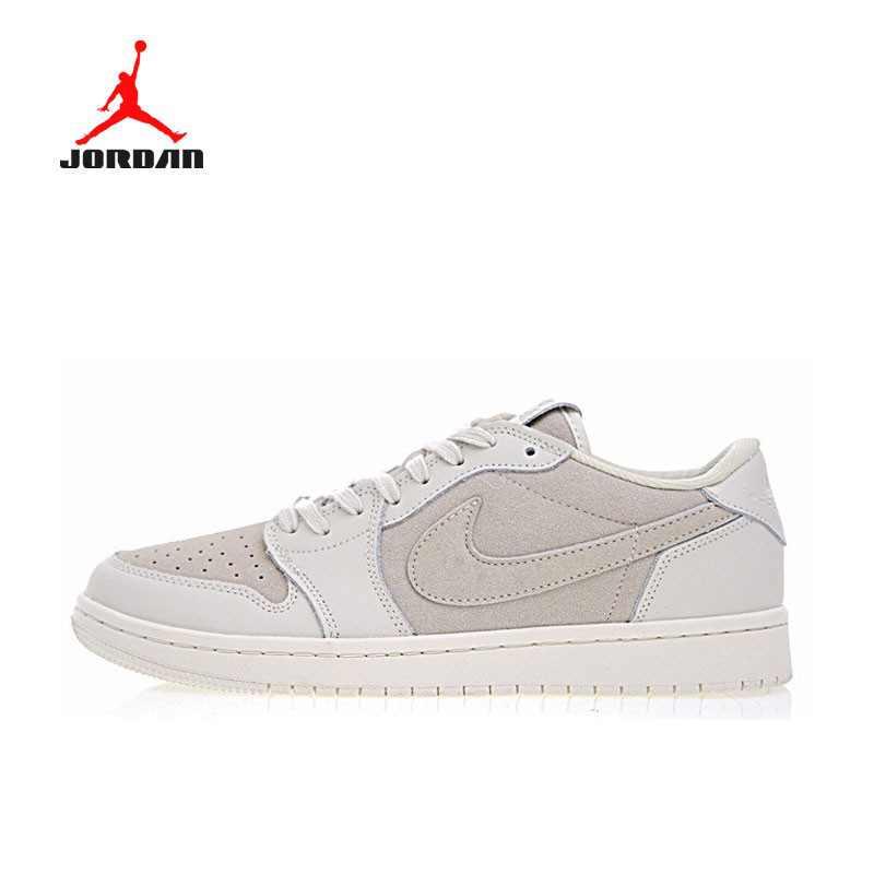 Air Jordan 1 Low OG Premium 初代 低幫 復古 籃球鞋 米灰 男款 919701-114