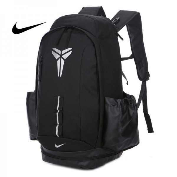 Nike Kobe 籃球包 大容量 雙肩包 旅行包 學生書包 鞋袋包 黑色 49*27*19