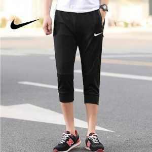 665aafc10b3cb367 300x300 - Nike 經典 男款 束口束腳褲 七分褲 運動短褲 休閒褲 黑色 時尚百搭
