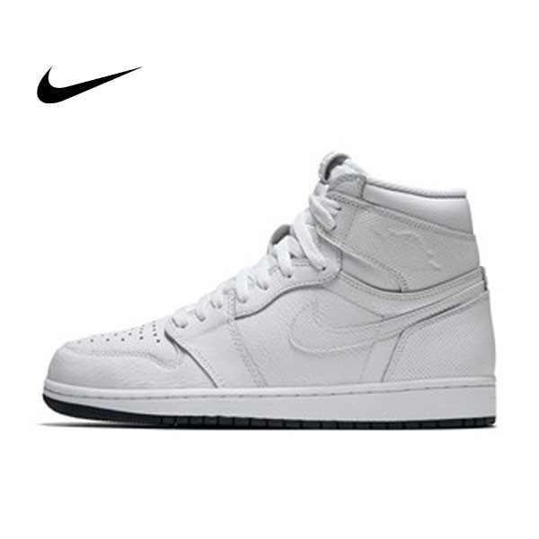 Air Jordan 1 Retro High OG白色 皮面 黑底 高筒 男鞋555088-100 - 耐吉官方網-nike 官網