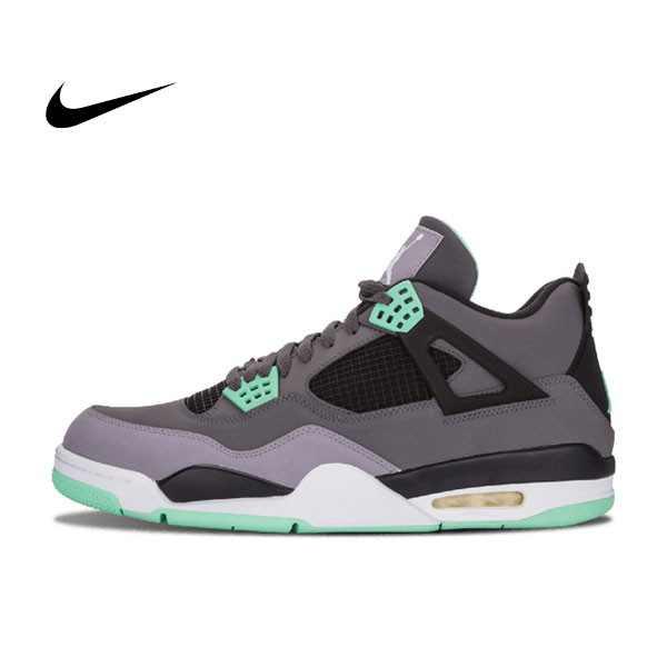 Air Jordan 4 Retro Green Glow 灰綠 男女鞋 籃球鞋 308497 033 - 耐吉官方網-nike 官網