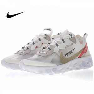 6eb707f985e3f061 300x300 - UNDERCOVER x Nike Upcoming React Element 87 半透明 前衛 慢跑鞋 白紅 休閒 時尚 AQ1813-345