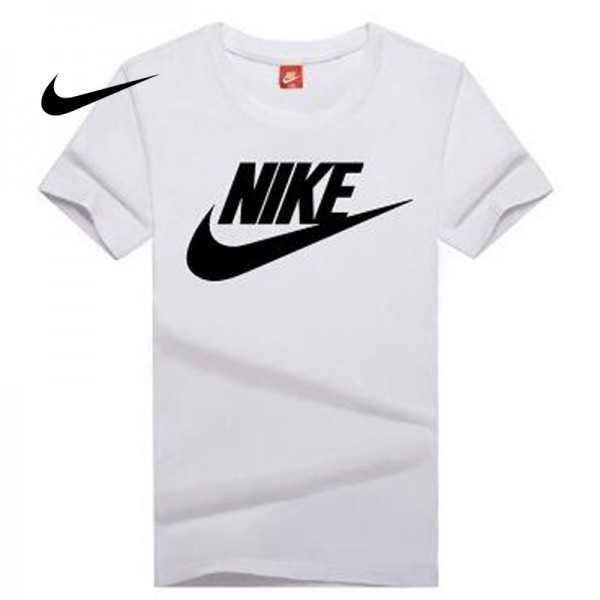 NIKE 情侶款 夏季新款 基礎 純棉T恤 修身 吸汗 透氣 時尚百搭