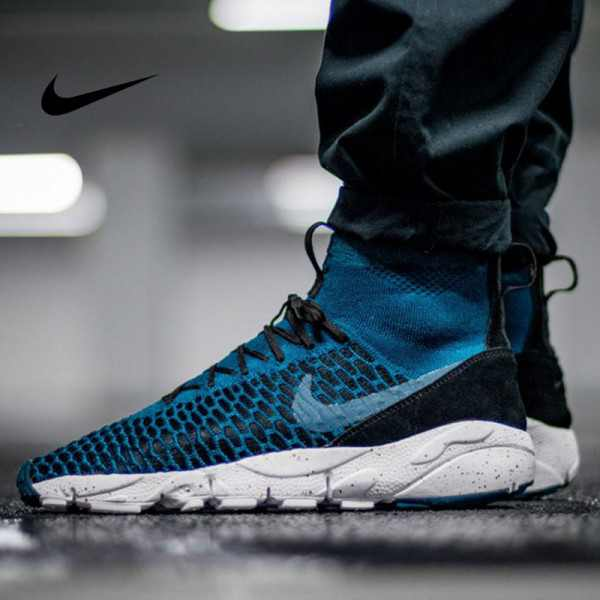 Nike Air Footscape Magista Flyknit 小呂布 編織慢跑鞋 男款 時尚 百搭830600-300