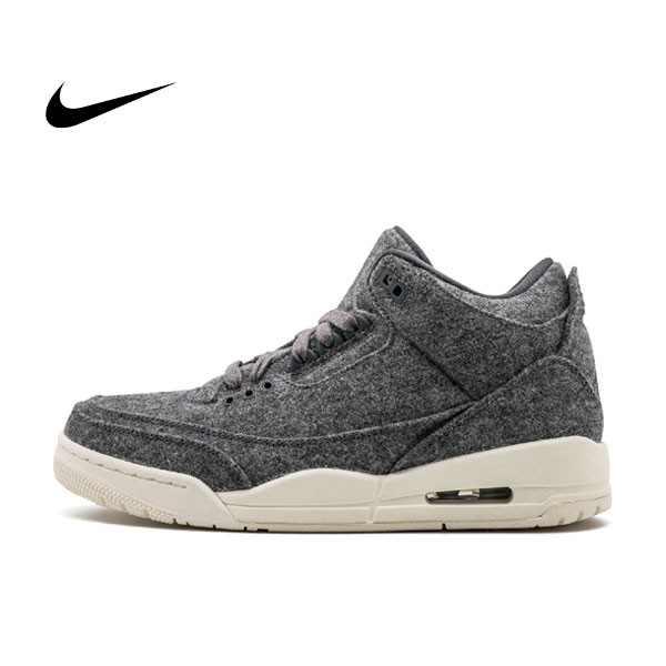 "Air Jordan 3 ""Wool"" Dark Grey 羊毛 灰色 男鞋 854263-004 - 耐吉官方網-nike 官網"