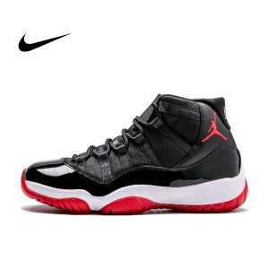 7fa468e4d6172d95 300x300 - Air Jordan 11 Retro 黑紅 高筒 男鞋 Bred 378037 010