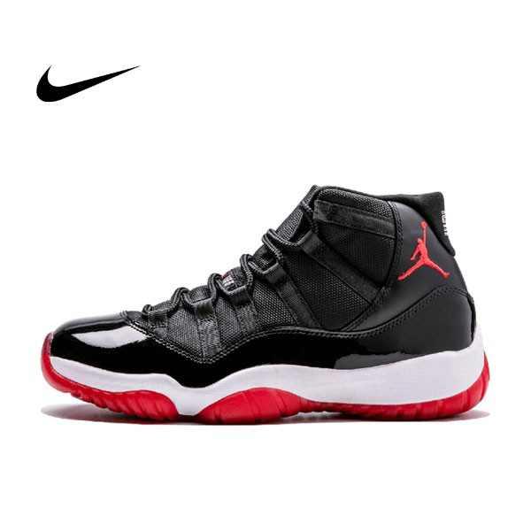 Air Jordan 11 Retro 黑紅 高筒 男鞋 Bred 378037 010 - 耐吉官方網-nike 官網
