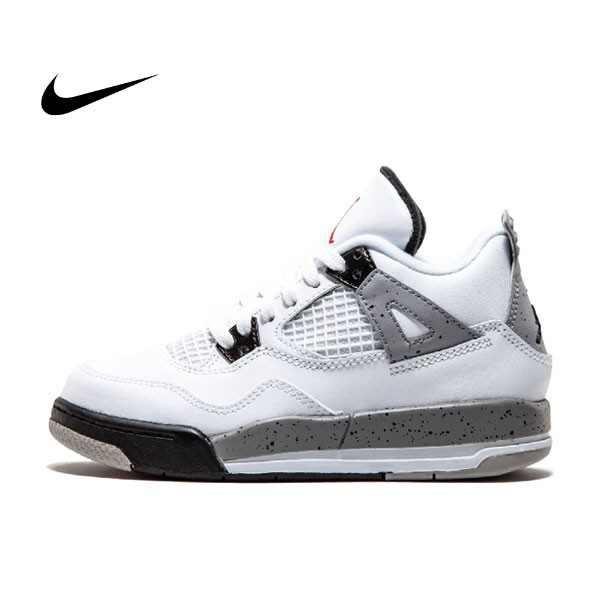 Jordan 4 Retro BP - 308499 104 籃球鞋 水泥灰 男鞋 - 耐吉官方網-nike 官網