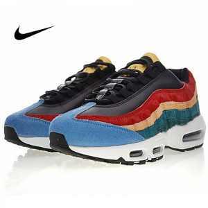 890f8cb859779ae9 300x300 - Nike Air Max 95 復古 氣墊 慢跑鞋 棕毛 拼色 伽藍 男款 807443-003