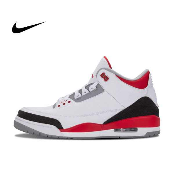 Air Jordan 3 Retro Fire Red 白黑紅 3代 男鞋 136064 120 - 耐吉官方網-nike 官網