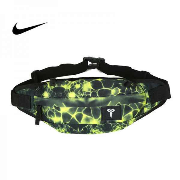 Nike 腰包 騎行包 零錢包 胸包 斜挎包 綠色 時尚百搭 NK-1641