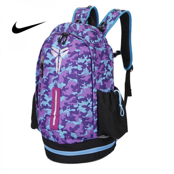 Nike Kobe 迷彩 雙肩包 大容量 後背包 情侶款 時尚 百搭 高60*寬30*厚23CM