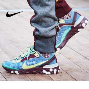 933b7529e82d471a 300x300 - UNDERCOVER x Nike Upcoming React Element 87 半透明 前衛 慢跑鞋 紫紅孔雀藍 AQ1813-341