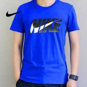 9451caa152453496 300x300 - NIKE 夏季新款 基礎 純棉T恤 男款 藍色 時尚百搭 經典