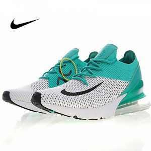 9668121040638dbc 300x300 - Nike Air 270 Flyknit 飛織 氣墊 慢跑鞋 白綠 情侶款 時尚百搭 AH8050-011