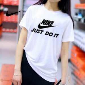 9daa991691627bbf 300x300 - NIKE 情侶款 夏季新款 基礎 純棉T恤 白黑 經典 百搭