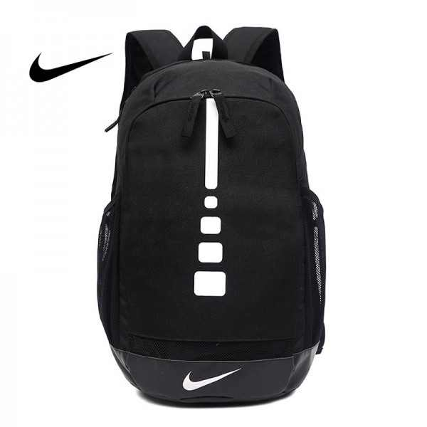 感嘆號 Nike 雙肩包 學生書包 旅行包 健身包 潮流後背包 黑白  45*29*20