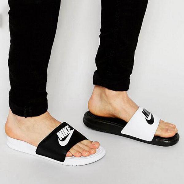 Nike Benassi Jdi Mismatch 鴛鴦拖鞋 防滑 防水 情侶款 時尚 百搭 818736-011