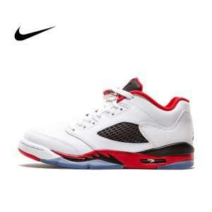 a930cf69c410f9f2 300x300 - NIKE JORDAN 5 RETRO LOW GS 314338-101 籃球鞋 白紅 女鞋