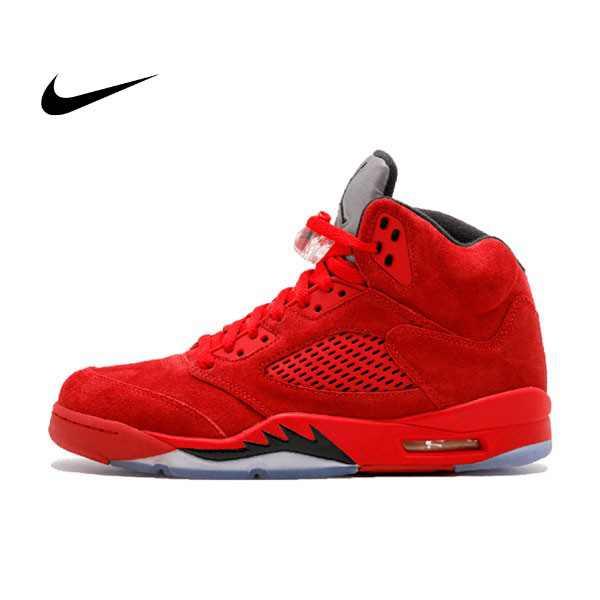 "AIR JORDAN V RETRO ""RED SUEDE"" 136027-602 五代 麂皮 紅色 男鞋 - 耐吉官方網-nike 官網"